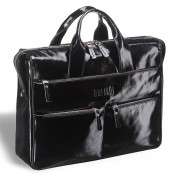 Вместительная деловая сумка BRIALDI Manchester shiny black