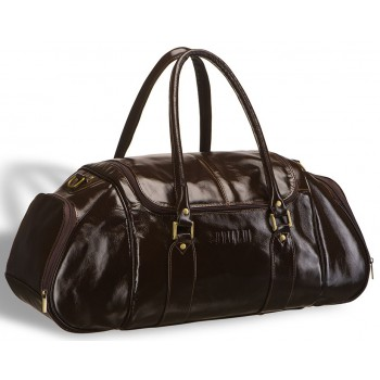 Дорожно-спортивная сумка BRIALDI Modena shiny brown