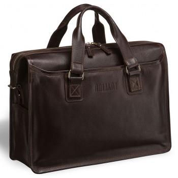 Деловая сумка для документов BRIALDI Nelson (Нельсон) brown