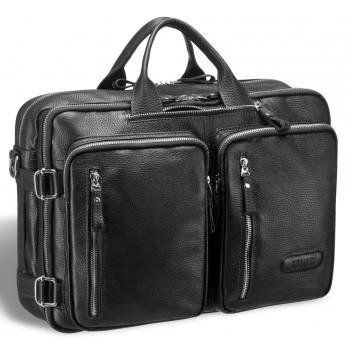 Мужская сумка-трансформер BRIALDI Norman relief black