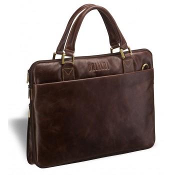 Деловая сумка BRIALDI Ostin antique brown