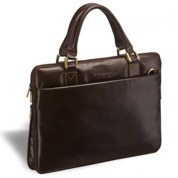 Деловая сумка BRIALDI Ostin brown