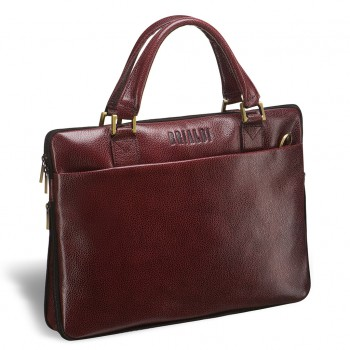 Деловая сумка BRIALDI Ostin cherry