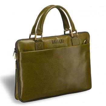Деловая сумка BRIALDI Ostin relief mustard