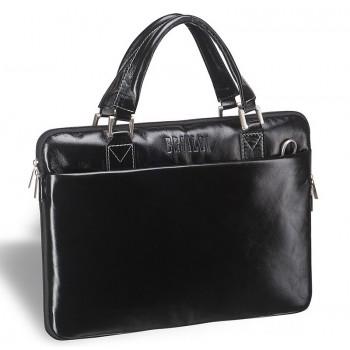 Деловая сумка BRIALDI Ostin shiny black