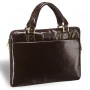 Деловая сумка BRIALDI Ostin shiny brown