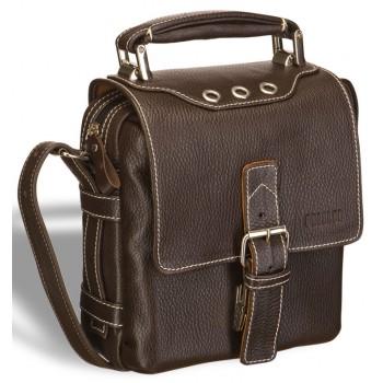 Мужская сумка через плечо BRIALDI Page brown