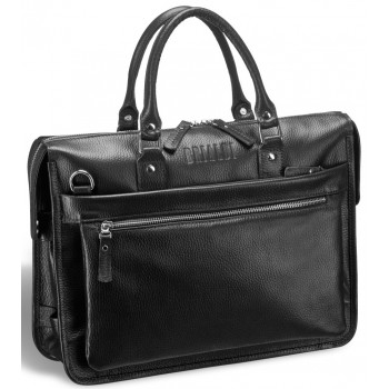 Деловая сумка BRIALDI Pascal relief black