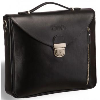 Высокий деловой портфель BRIALDI Planck black
