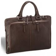 Ультратонкая деловая сумка BRIALDI Sydney brown