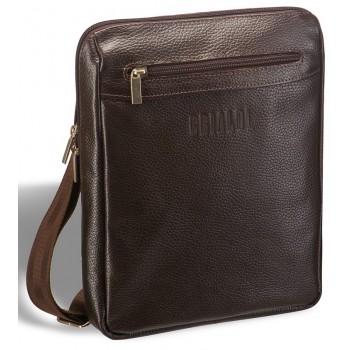 Мужская сумка через плечо BRIALDI Thoreau relief brown