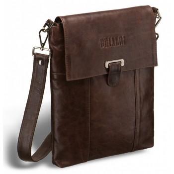 Кожаная сумка через плечо BRIALDI Toronto (Торонто) antique brown