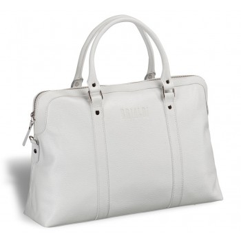 Женская сумка BRIALDI Valencia (Валенсия) relief white