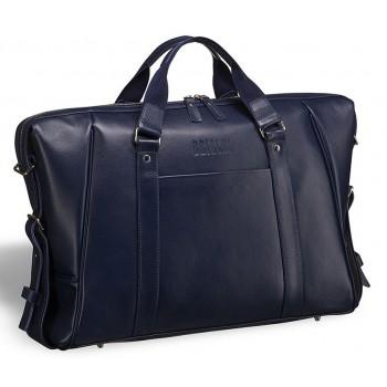 Деловая сумка Valvasone (Вальвазоне) navy- вмещает ноутбук 17