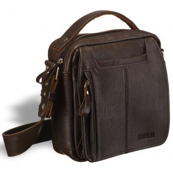 Мужская сумка через плечо BRIALDI Vito brown
