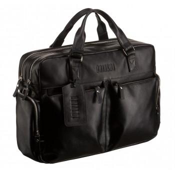 Большая деловая сумка BRIALDI Dayton black