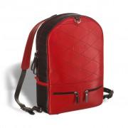 Кожаный рюкзак BRIALDI Joker black and red