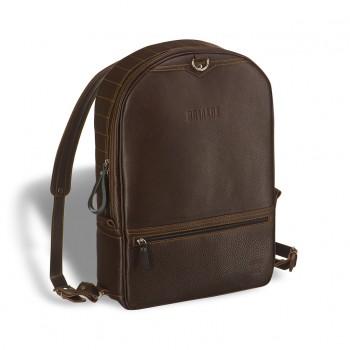 Кожаный рюкзак BRIALDI Joker brown