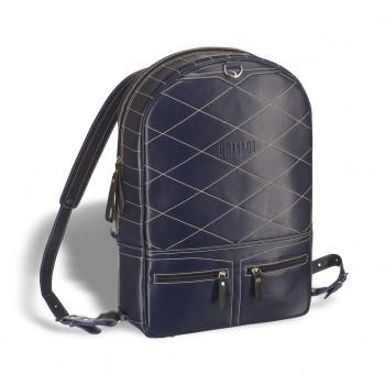 Кожаный рюкзак BRIALDI Joker navy