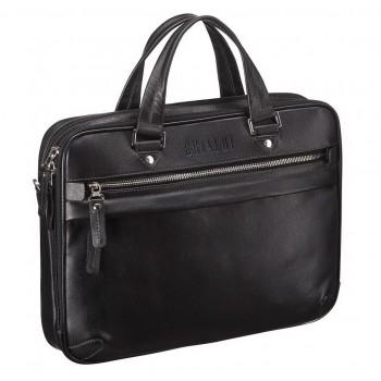 Классическая мужская сумка BRIALDI Oxford black