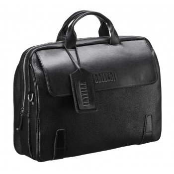 Объемная деловая сумка BRIALDI Seattle black
