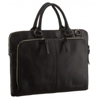Ультратонкая деловая сумка BRIALDI Sydney black