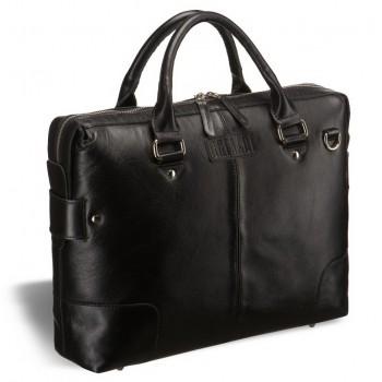 Строгая мужская сумка BRIALDI Varazze black