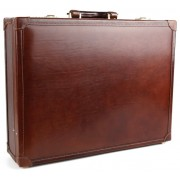 Кожаный дипломат Chiarugi 4504 brown