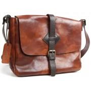 Деловая сумка через плечо Chiarugi 54004 brown