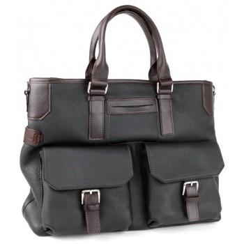 Деловая сумка Chiarugi 74610 black