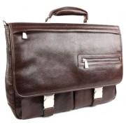 Кожаный портфель Chiarugi 94564 brown