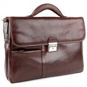 Кожаный портфель Chiarugi 94583 brown