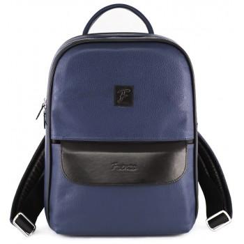 Кожаный рюкзак Frenzo 0406 blue
