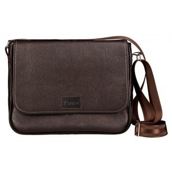 Деловая сумка через плечо Frenzo 0508 brown