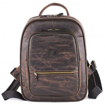 Кожаный рюкзак Frenzo 1701 antique brown