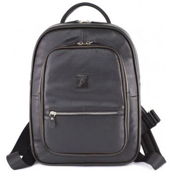 Кожаный рюкзак Frenzo 1701 black