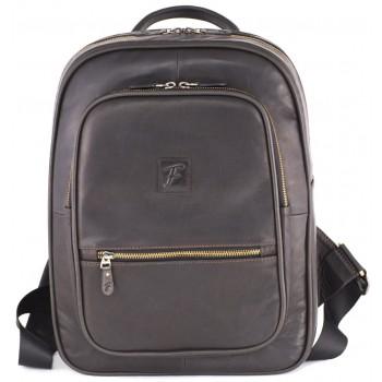 Кожаный рюкзак Frenzo 1701 lux black