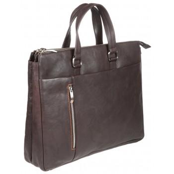 Деловая сумка Gianni Conti 1041261 dark brown