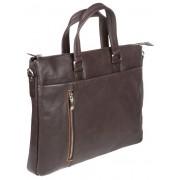Деловая сумка Gianni Conti 1041263 dark brown