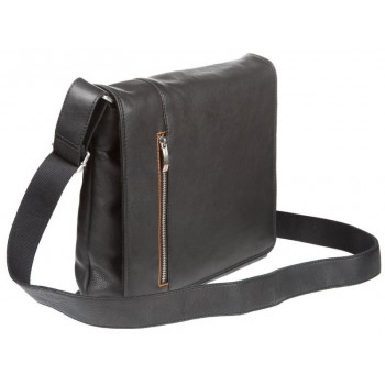 Деловая сумка через плечо Gianni Conti 1042532 black