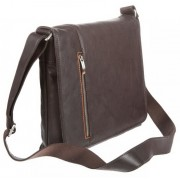 Деловая сумка через плечо Gianni Conti 1042532 dark brown