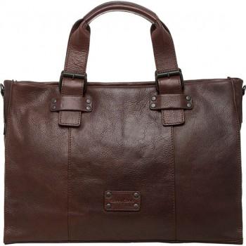 Деловая сумка Gianni Conti 1131410 dark brown