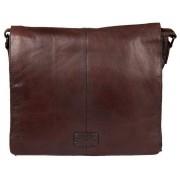 Деловая сумка через плечо Gianni Conti 1132310 dark brown
