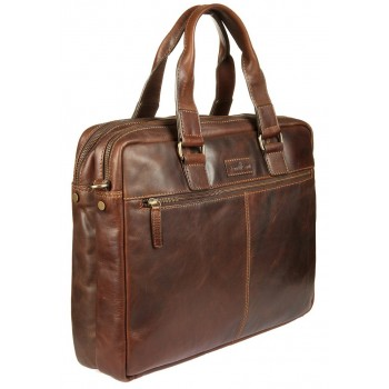 Деловая сумка Gianni Conti 1221265 dark brown