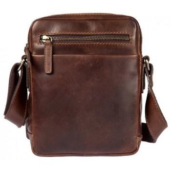 Сумка через плечо Gianni Conti 1222312 dark brown