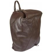 Кожаный рюкзак Gianni Conti 1542715 dark brown