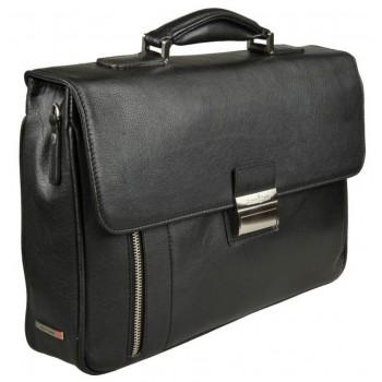 Кожаный портфель Gianni Conti 1601204 black