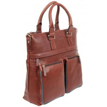 Деловая сумка Gianni Conti 1752258 brown teal