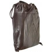 Кожаный рюкзак Gianni Conti 1812712 dark brown
