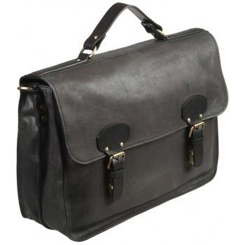 Кожаный портфель Gianni Conti 2182723 black